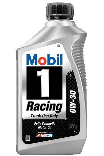 Моторное масло Mobil RACING, 0W-30, 0.946л