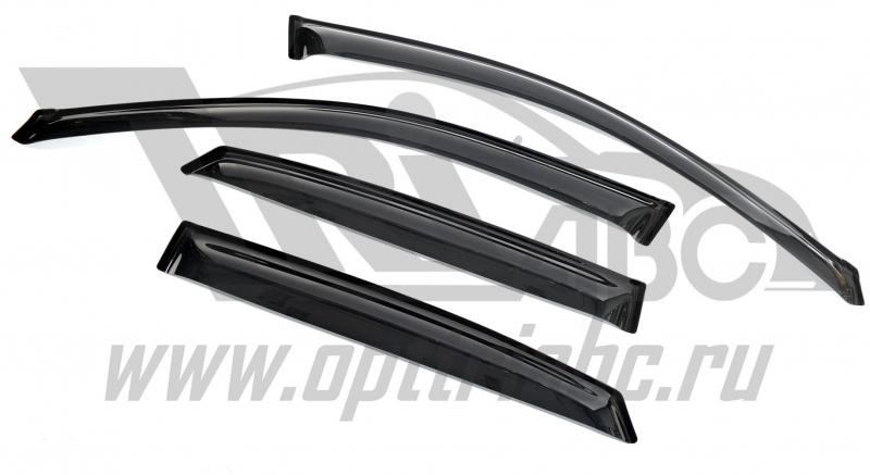 Дефлекторы боковых окон Lexus RX II (2003-2009) (4шт) (темный), SLRX3000332