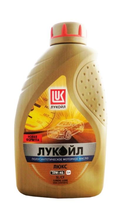 Моторное масло LUKOIL Люкс, 10W-40, 1л, 19187