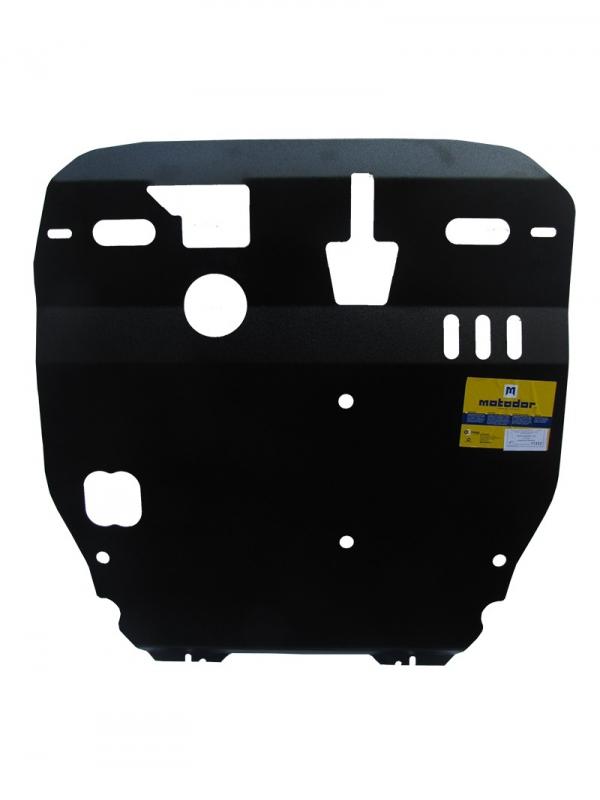 Защита картера двигателя, КПП Mitsubishi ASX Peugeot 4008 2012- V= все (сталь 3 мм), MOTODOR11312