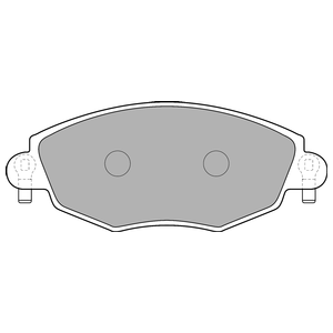 Колодки дисковые, DELPHI, LP1533