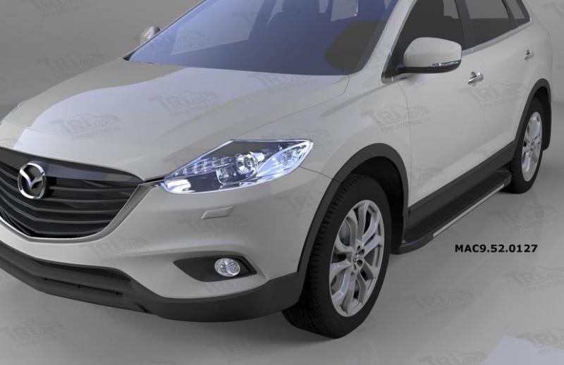 Пороги алюминиевые (Onyx) Mazda (Мазда) CX9 (2013-), MAC9520127