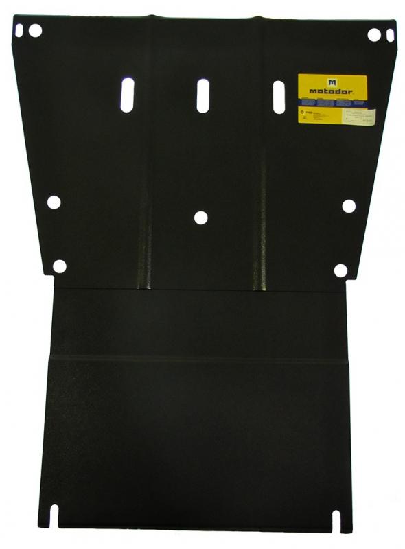 Защита картера двигателя, КПП MB Viano V=3,0 (2003-2014)(сталь 2 мм), MOTODOR01217