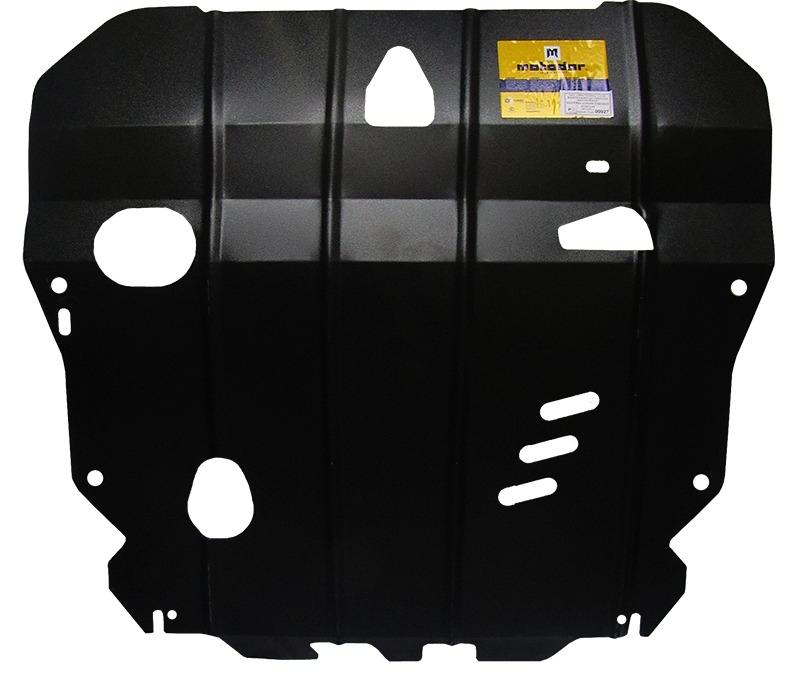Защита картера двигателя, КПП Hyundai Coupe II (GK) 2001-2009 V= все (сталь 2 мм), MOTODOR00927