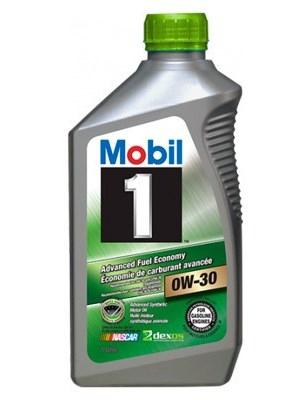 Моторное масло Mobil Advanced Fuel Economy, 0W-30, 0.946л