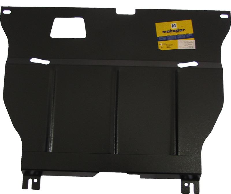 Защита картера двигателя, КПП Honda Civic 1995-2001 Rover 400 1995-2000 V= все (сталь 2 мм), MOTODOR