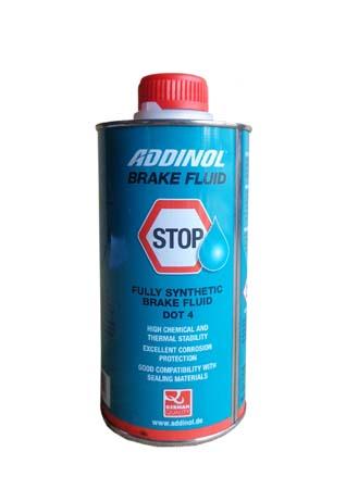 Тормозная жидкость ADDINOL Brake Fluid DOT 4 (0,5л)