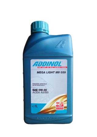 Моторное масло ADDINOL Mega Light MV 039 SAE 0W-30 (1л)