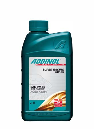 Моторное масло ADDINOL Super Racing SAE 5W-50 (1л)