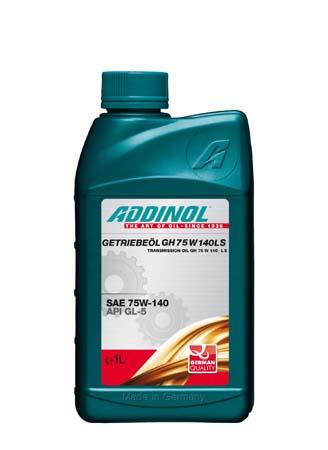 Трансмиссионное масло ADDINOL Getriebeol GH 75W 140LS SAE 75W-140 (1л)