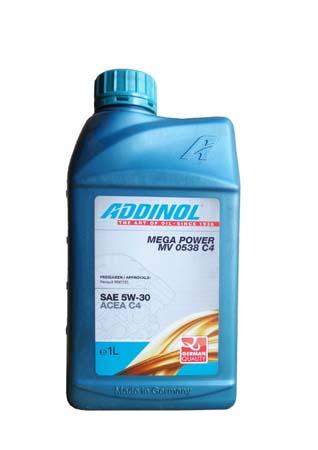 Моторное масло ADDINOL Mega Power MV 0538 C4 SAE 5W-30 (1л)
