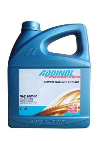 Моторное масло ADDINOL Super Racing SAE 10W-60 (4л)