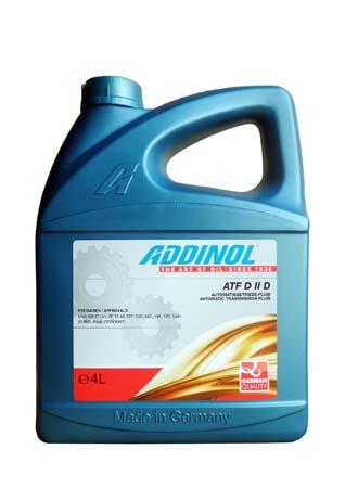 Трансмиссионное масло ADDINOL ATF D II D (4л)