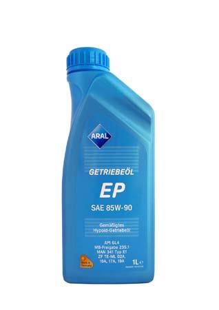 Трансмиссионное масло ARAL Getriebel EP SAE 85W-90 (1л)