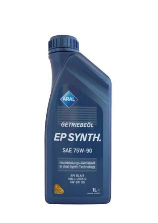 Трансмиссионное масло ARAL Getriebe?l EP Synth. SAE 75W-90 (1л)