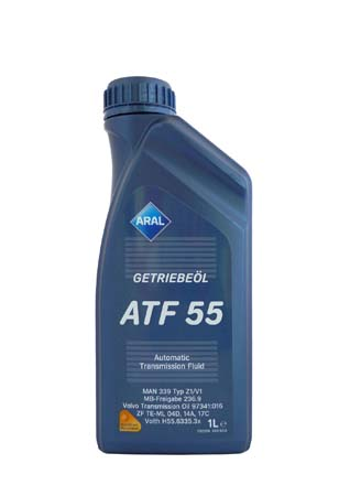 Трансмиссионное масло ARAL Getriebe?l ATF 55 (1л)