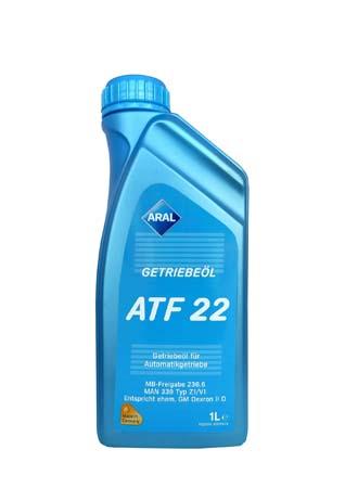 Трансмиссионное масло ARAL Getriebe?l ATF 22 (1л)