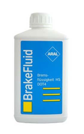 Тормозная жидкость ARAL Bremsflussigkeit HS DOT 4 (0,5л)