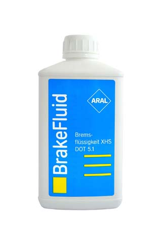 Тормозная жидкость ARAL Bremsflussigkeit ХHS DOT 5.1 (0,5л)