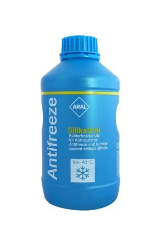 Антифриз готовый красный ARAL Antifreeze Silikatfrei (1л)