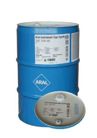 Трансмиссионное масло ARAL Getriebel Hyp Synth. SAE 75W-90 (60л)