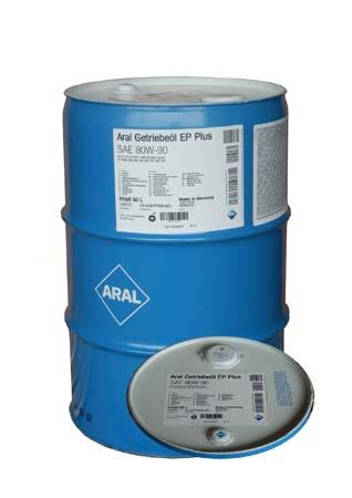 Трансмиссионное масло ARAL Getriebe?l EP Plus SAE 80W-90 (60л)