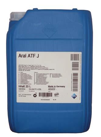 Трансмиссионное масло ARAL Getriebel ATF J (20л)