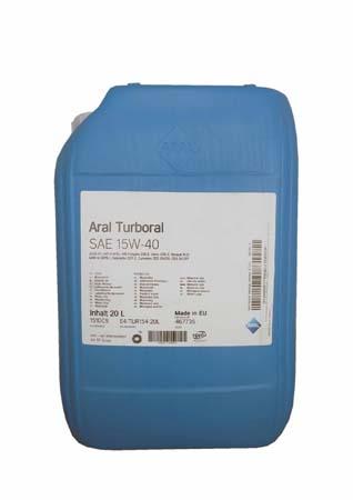 Моторное масло ARAL Turboral SAE 15W-40 (20л)
