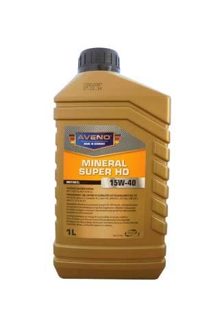 Моторное масло AVENO Mineral Super HD SAE 15W-40 (1л)