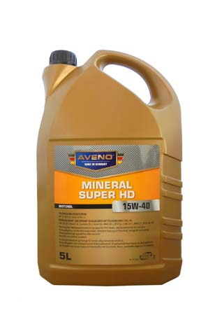 Моторное масло AVENO Mineral Super HD SAE 15W-40 (5л)