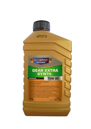 Трансмиссионное масло AVENO Gear Extra Synth. SAE 75W-90 (1л)