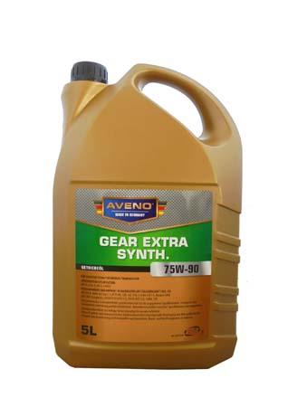 Трансмиссионное масло AVENO Gear Extra Synth. SAE 75W-90 (5л)