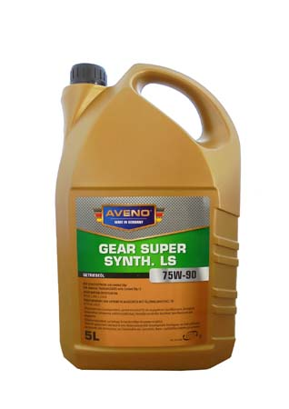 Трансмиссионное масло AVENO Gear Super Synth. LS SAE 75W-90 (5л)