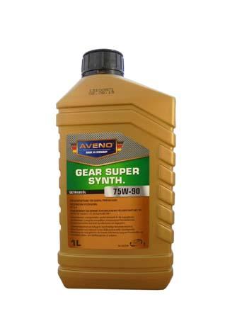 Трансмиссионное масло AVENO Gear Super Synth. SAE 75W-90 (1л)
