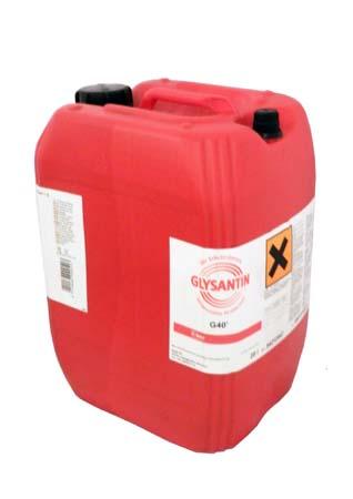 Антифриз концентрированный красно-фиолетовый BASF Glysantin G40 (20л)