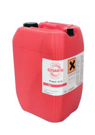 Антифриз концентрированный оранжевый BASF Glysantin G34 (20л)