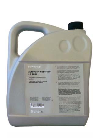 Трансмиссионное масло BMW ATF LA 2634 (5л)