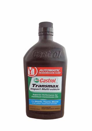 Трансмиссионное масло CASTROL Transmax Import Multi-Vehicle ATF (0,946л)