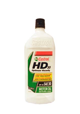 Моторное масло CASTROL HD 30 (0,946л)