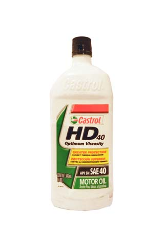 Моторное масло CASTROL HD 40 (0,946л)