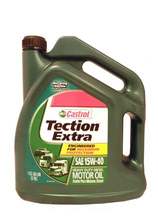 Моторное масло CASTROL Tection Extra SAE 15W-40 Motor Oil (3,785л)