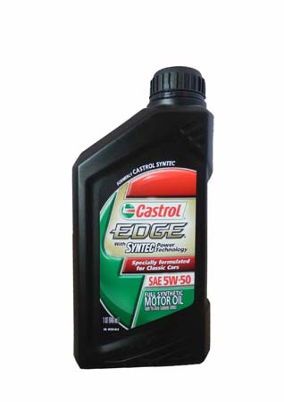 Моторное масло CASTROL EDGE With Syntec Power Technology, 5W-50, 0.946л, 06250