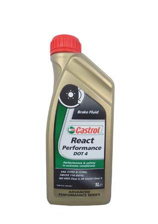 Т/жидкость React Performance DOT 4, 1л 4671570060