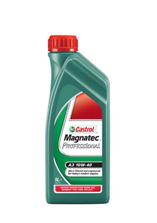 Моторное масло CASTROL Magnatec Professional A3, 10W-40, 1л, 4673920060