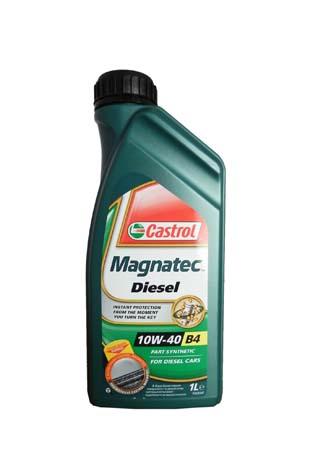 масло CASTROL MAGNATEC DIESEL 10W-40 B4, 1л. 4668420060
