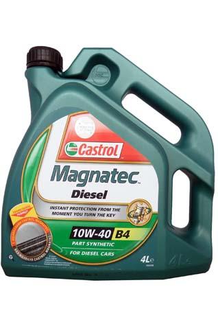 масло CASTROL MAGNATEC DIESEL 10W-40 B4, 4л. 4668420090