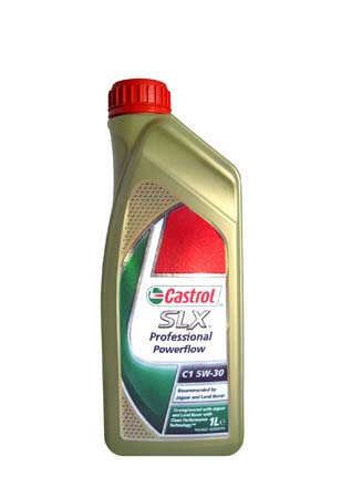 Моторное масло CASTROL SLX Professional Powerflow Jaguar, Land Rover SAE 5W-30 ACEA C1 (1л)