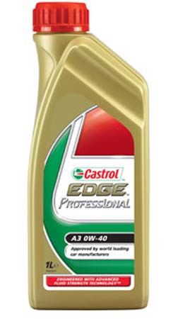 Моторное масло CASTROL EDGE Professional SAE 0W-40 ACEA A3 (208л)