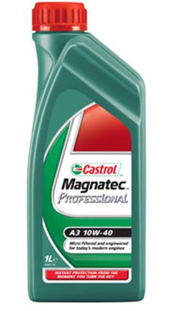 Моторное масло CASTROL Magnatec Professional SAE 10W-40 ACEA A3 (60л)
