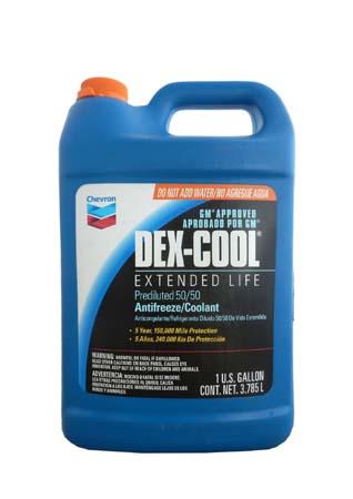 Антифриз готовый к прим. оранжевый СHEVRON Dex-Cool Extended Life 50/50 Antifreeze/Coolant (3,785 л)